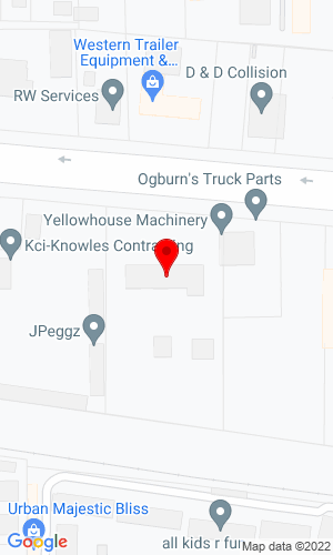Google Map of Yellowhouse Machinery Co. 1111 East Hwy 80, Abilene, TX, 79601