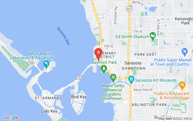 1111 Ritz Carlton Dr #1704 Sarasota Florida 34236 locatior map