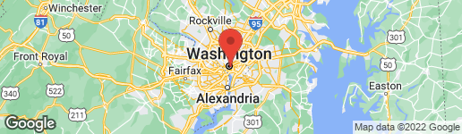 Map of 1111 11TH STREET NW #102 WASHINGTON, DC 20001