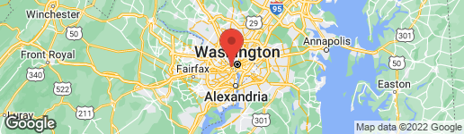 Map of 1111 19TH STREET N #2002 ARLINGTON, VA 22209