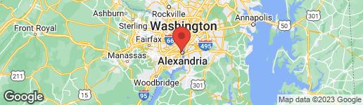Map of 1111 DUKE STREET ALEXANDRIA, VA 22314