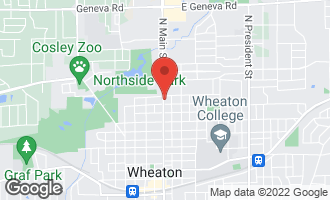 Map of 1111 North Main Street WHEATON, IL 60187