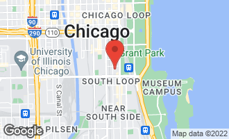 Map of 1111 South Wabash Avenue #2209 CHICAGO, IL 60605