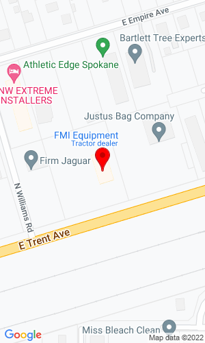 Google Map of FMI Equipment 11111 E Trent Avenue, Spokane, WA, 99206