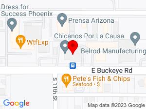 Google Map of Chicanos Por La Causa