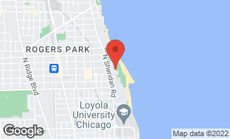 Map of 1115 West Lunt Avenue 3A CHICAGO, IL 60626