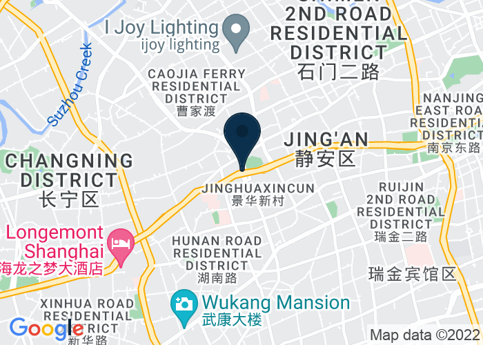 Map of 1116 Yan An West Road, Changning District, Shanghai, 200052, China