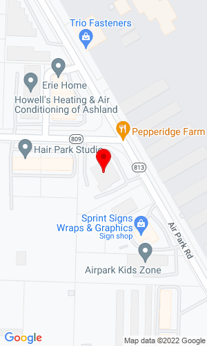 Google Map of Morooka USA East 11191 Air Park Road, Ashland, VA, 23005