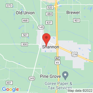 Shannon Police Jail location on map