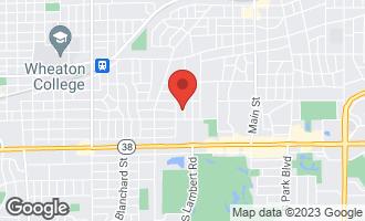 Map of 112 Kenilworth Avenue GLEN ELLYN, IL 60137