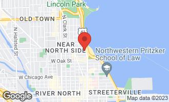 Map of 1120 North Lake Shore Drive 8A CHICAGO, IL 60611