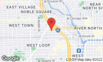 Map of 1120 West Grand Avenue #3 CHICAGO, IL 60642