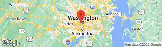 Map of 1121 ARLINGTON BOULEVARD #448 ARLINGTON, VA 22209