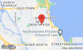 Map of 1122 North Dearborn Street 24J CHICAGO, IL 60610
