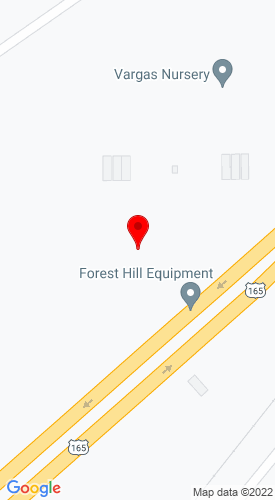 Google Map of Forest Hill Equipment & Auto, LLC 11222 Highway 165 South, Forest Hill, LA, 71430