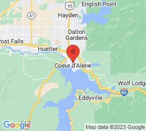 Job Map - 1125 N DIVISION AVE Coeur d'Alene, Idaho 83864 US
