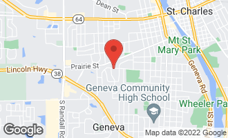 Map of 1125 Horne Street ST. CHARLES, IL 60174