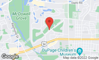 Map of 1125 Royal St George Drive #102 NAPERVILLE, IL 60563
