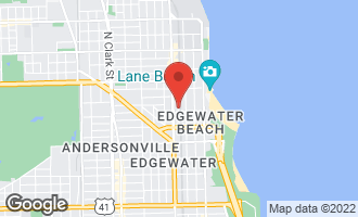 Map of 1128 West Ardmore Avenue #10 CHICAGO, IL 60660