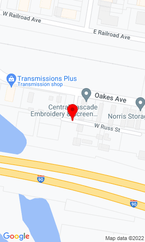 Google Map of Factotum Auto & Fleet Repair LLC 113 W Russ Street, Cle Elum , WA, 98922