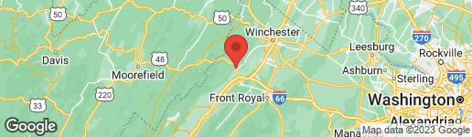 Map of 113 HELSLEY HEIGHTS STRASBURG, VA 22657