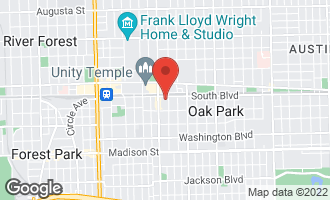 Map of 113 South Euclid Avenue A OAK PARK, IL 60302