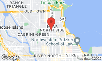 Map of 113 West Elm Street CHICAGO, IL 60610