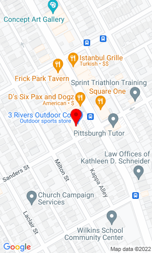 Google Map of M. Davis Group 1130 S. Braddock Avenue Suite 200, Pittsburgh, PA, 15218