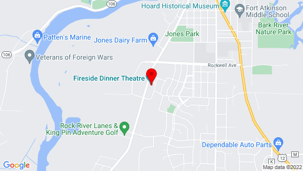 Google Map of 1131 Janesville Avenue, Fort Atkinson, WI 53538