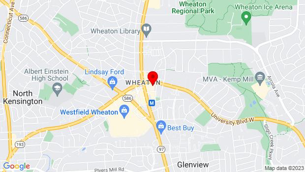 Google Map of 11319 Elkin Street