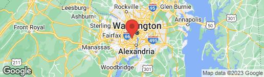 Map of 1133 MONROE STREET S ARLINGTON, VA 22204