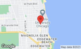 Map of 1134 West Granville Avenue #456 CHICAGO, IL 60660