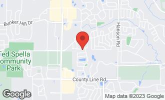 Map of 1139 Sawmill Lane ALGONQUIN, IL 60102