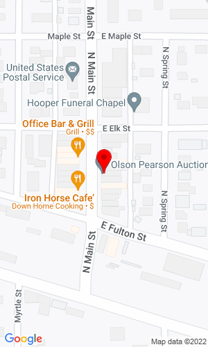 Google Map of Olson Pearson Auction 114 North Main St Box 25, Hooper, NE, 68031