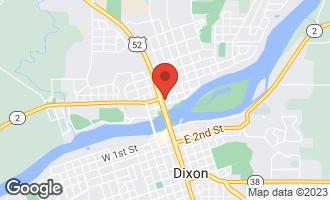 Map of 114 East Everett Street DIXON, IL 61021