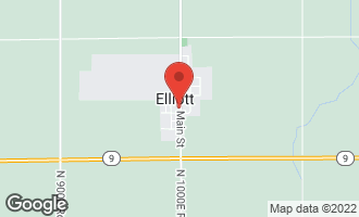 Map of 114 South Maple Street ELLIOTT, IL 60933