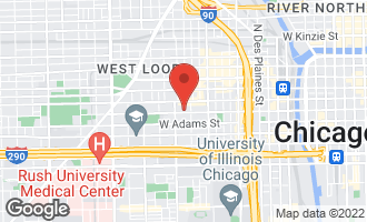 Map of 1140 West Monroe Street CHICAGO, IL 60607