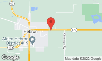 Map of 11417 Maple Avenue HEBRON, IL 60034