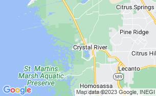 Map of Encore Crystal Isles RV Resort