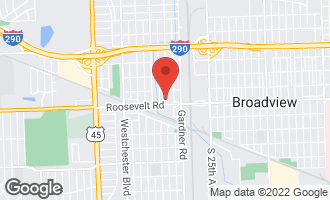 Map of 1142 Manchester Avenue WESTCHESTER, IL 60154