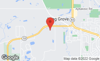Map of 1142 Steeple View Drive LONG GROVE, IL 60047