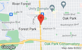 Map of 1144 Washington Boulevard #2 OAK PARK, IL 60302