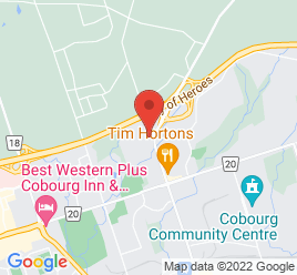 Google Map of 1145+Division+Street%2CCobourg%2COntario+K9A+4L1