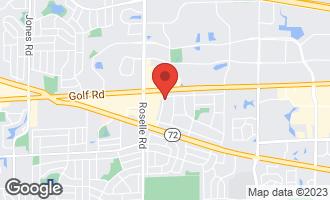 Map of 1145 Apple Street HOFFMAN ESTATES, IL 60169