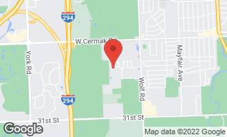 Map of 11453 Enterprise Drive WESTCHESTER, IL 60154