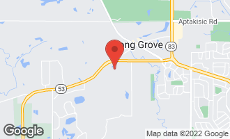 Map of 1146 Steeple View Drive LONG GROVE, IL 60047