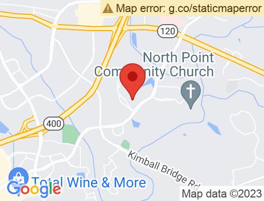 Google Map of 11475 Great Oaks Way 2nd Floor Alpharetta, GA 30022