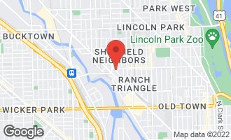 Map of 1149 West Armitage Avenue C CHICAGO, IL 60614
