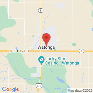 Watonga Police Jail location on map