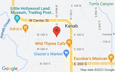 Map of 115 South Main Street, Kanab, UT, USA